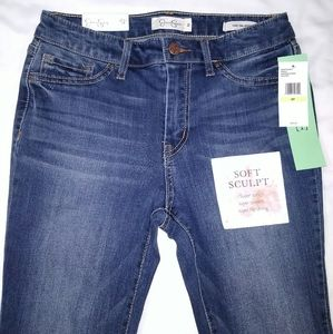 NWT Jessica Simpson High Rise Skinny Jeans Size 4P
